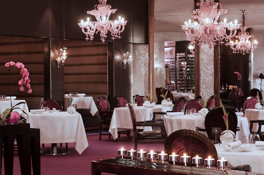 Reflets restaurant interior