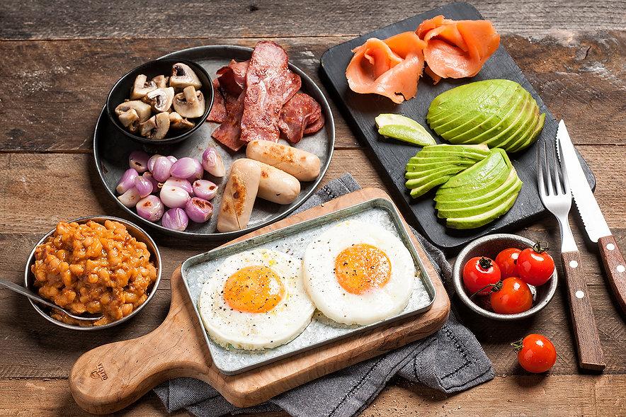 Full English Professional Food Photography Dubai UAE