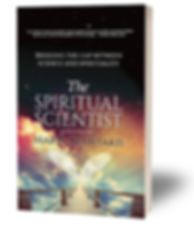 The Spiritual Scientist - 3d Book Cover.