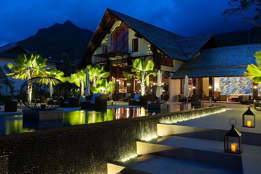 H Hotel Resort Seychelles Exterior architectural photography