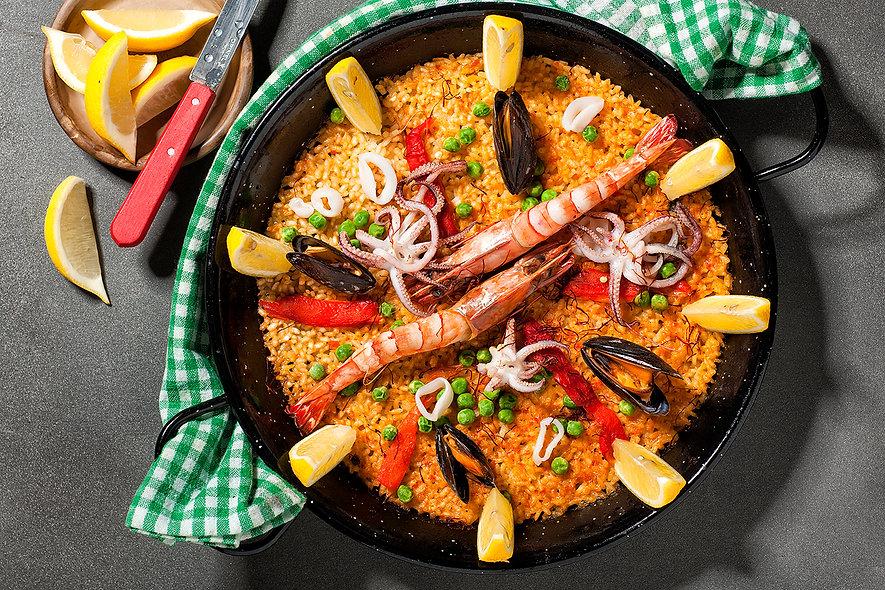 Paella Professional Food Photography Dubai UAE