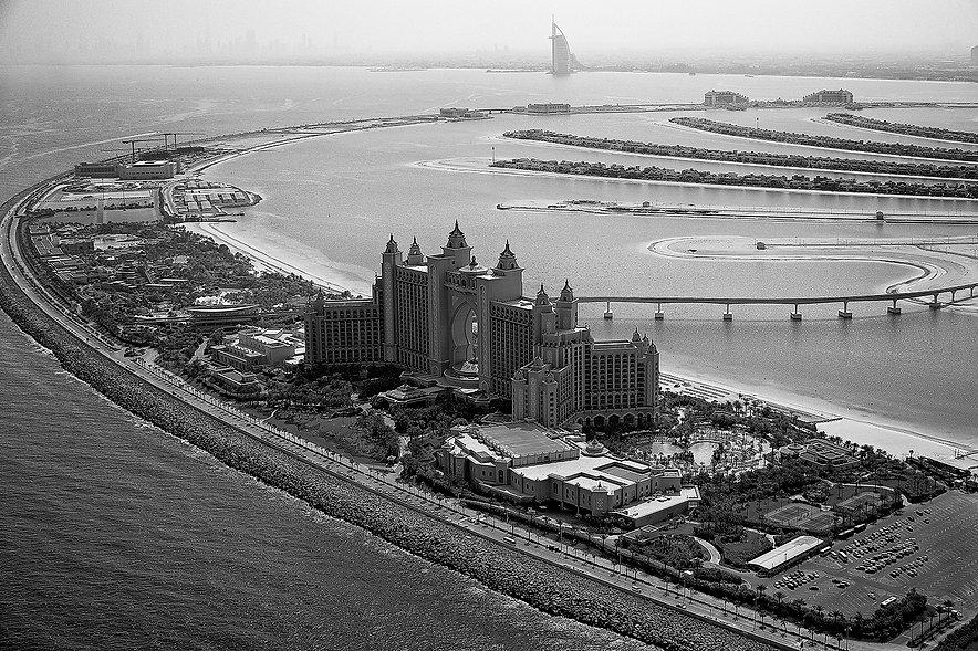 Aerial Photograph Atlantis the Palm