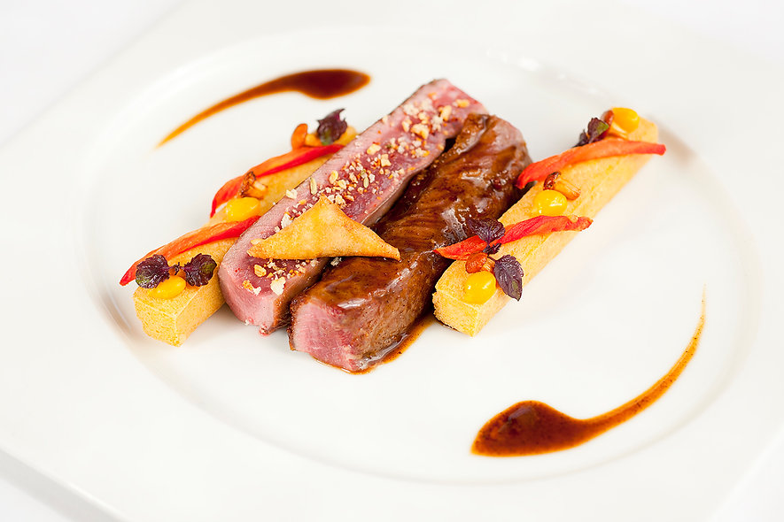 Professional fine dining Food photograph
