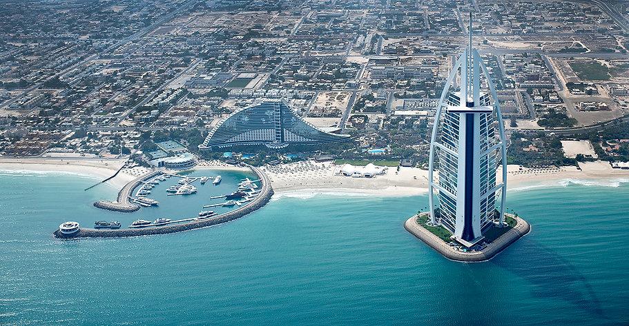 Architectural Exterior Photography Burj Al Arab
