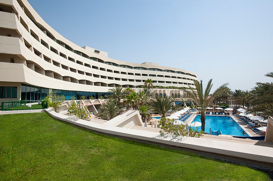 Architectural Exterior Photography Grand Hotel Sharjah