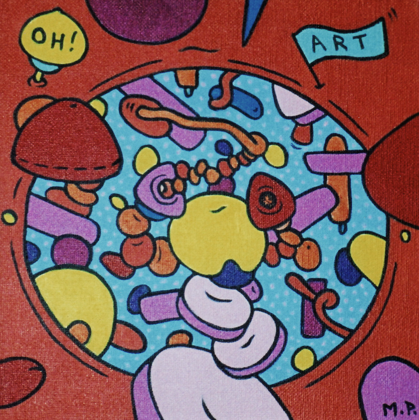 Oh, Art ! (20x20)