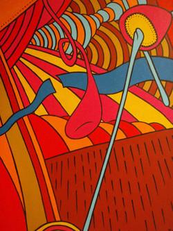 Psychedeland (60x50)