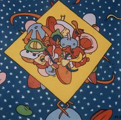 Cosmic Gathering (20x20)