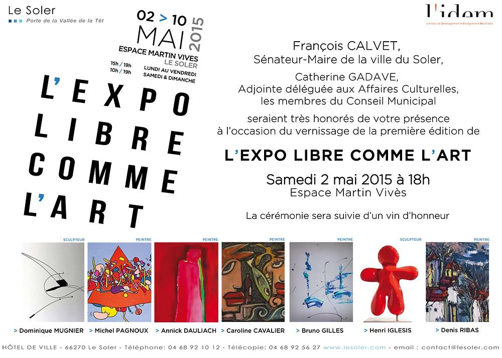 VISUEL INVITATION VERNISSAGE EXPO LIBRE COMME L'ART 2015.jpg