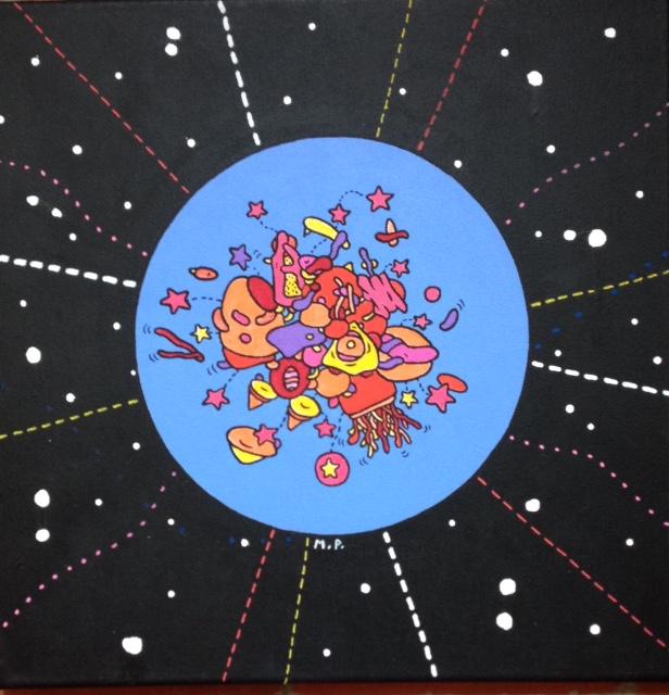 Cosmic Gathering 2 (40x40)