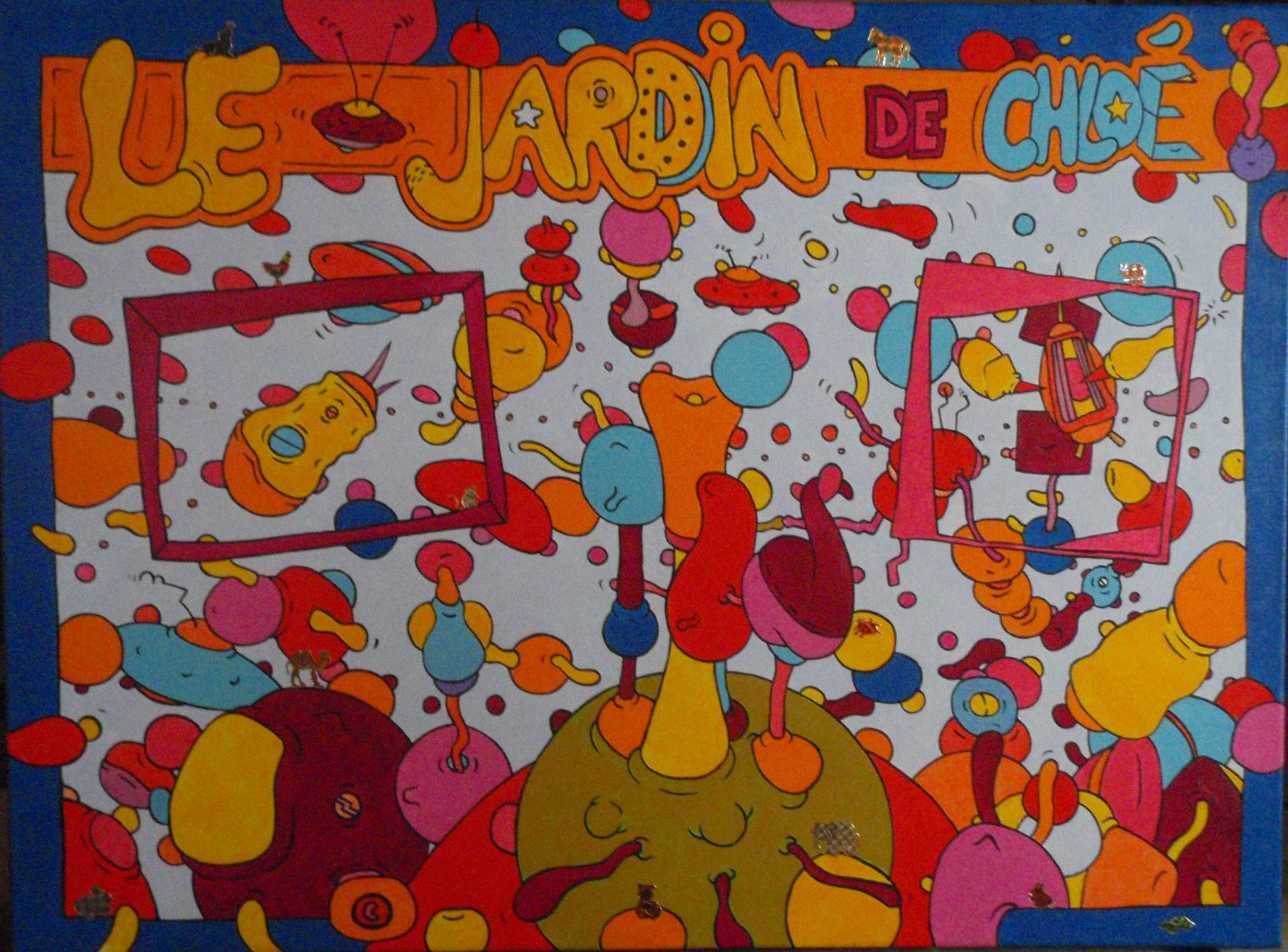 Le Jardin De Chloé (60x80)