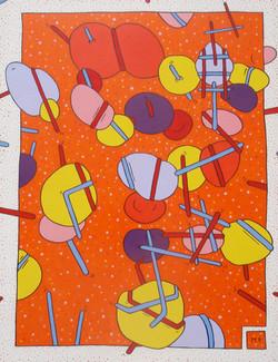 Fantaisie Cosmique (65x50)