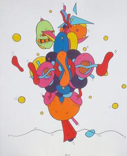 Dancing Fool (73x60)