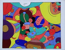 Attention, peinture fraiche! (89x116)