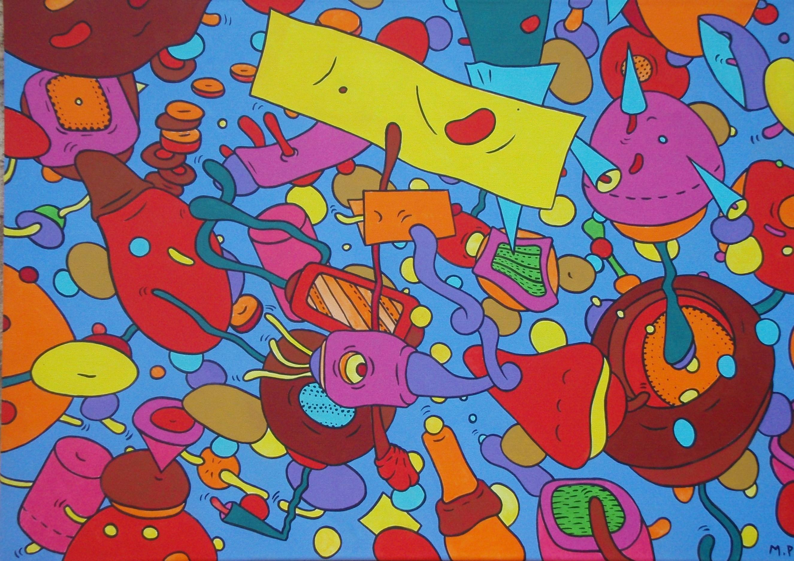Le Plaisir du Désordre (50x70)
