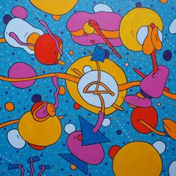 Cosmic Creation (40x40)