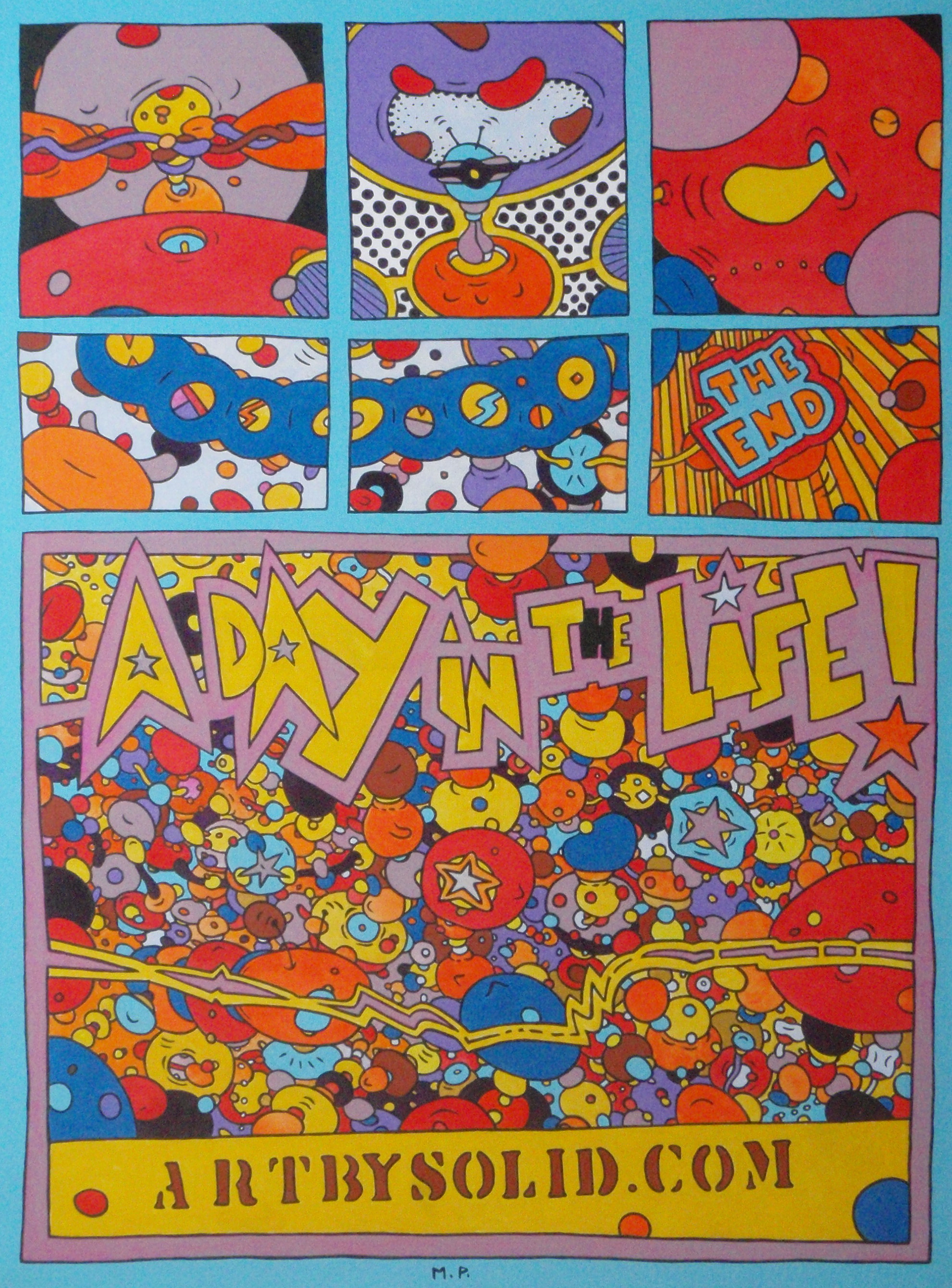 A Day In The Life (80x60)
