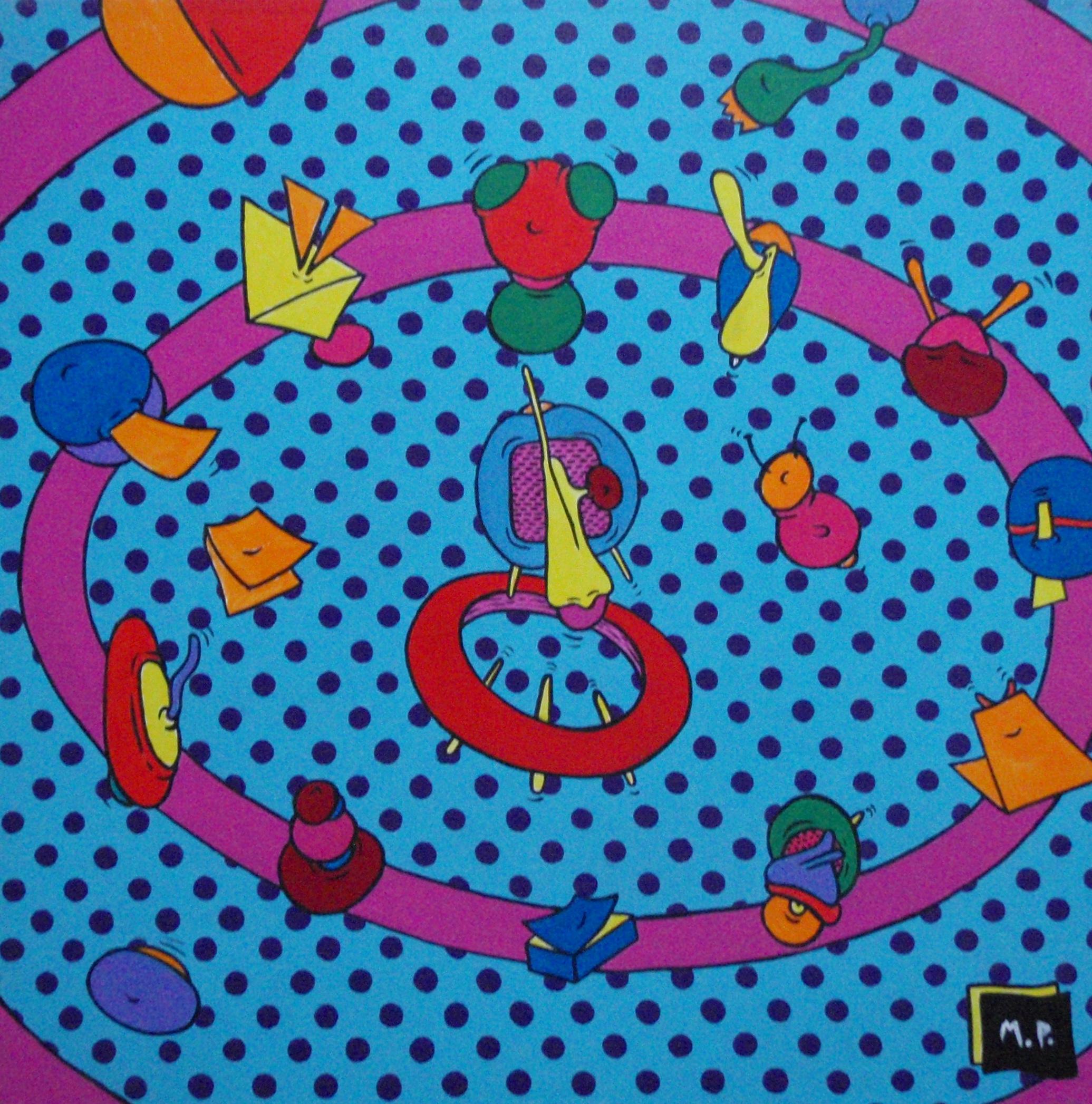 La Ronde (50x50)