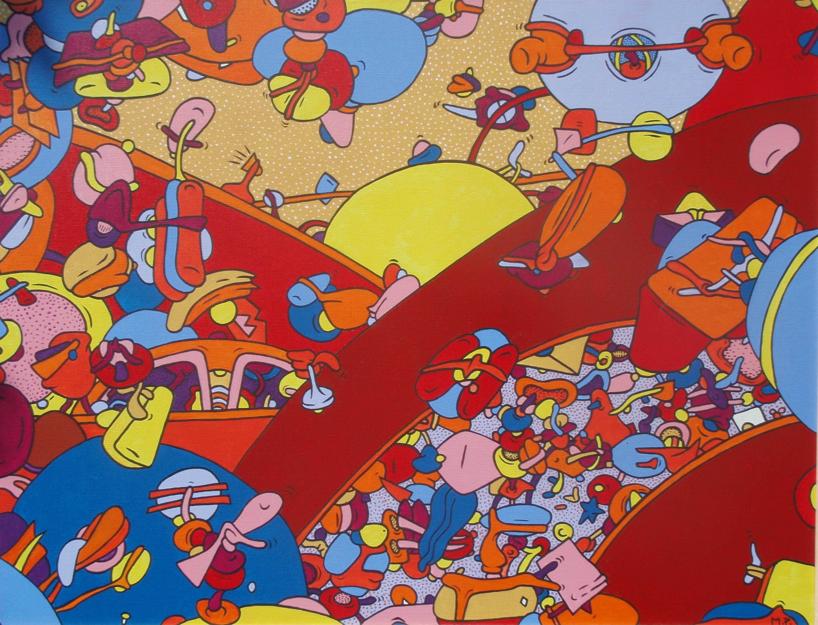 Soleil Levant à Solidoland (50x70)