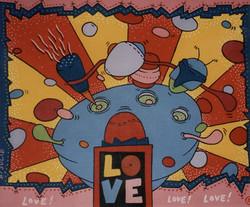 Love! Love! Love! (30x40)