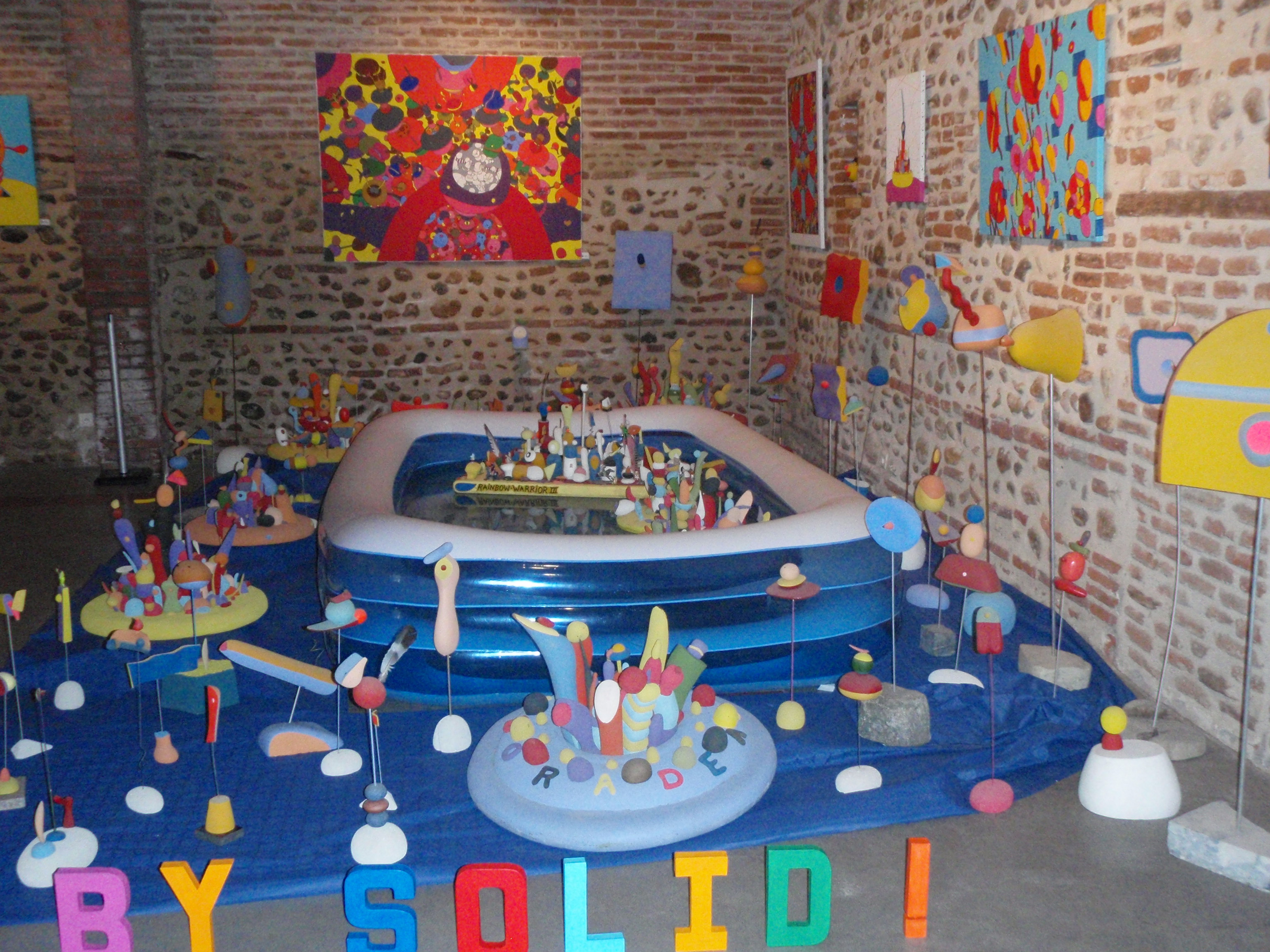 "Expo ""By Solid'"" Canet-en Roussillon"