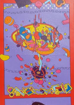 Twist'in Space (70x50)