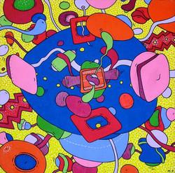 Rock 'n 'Roll Phantasy (50x50)