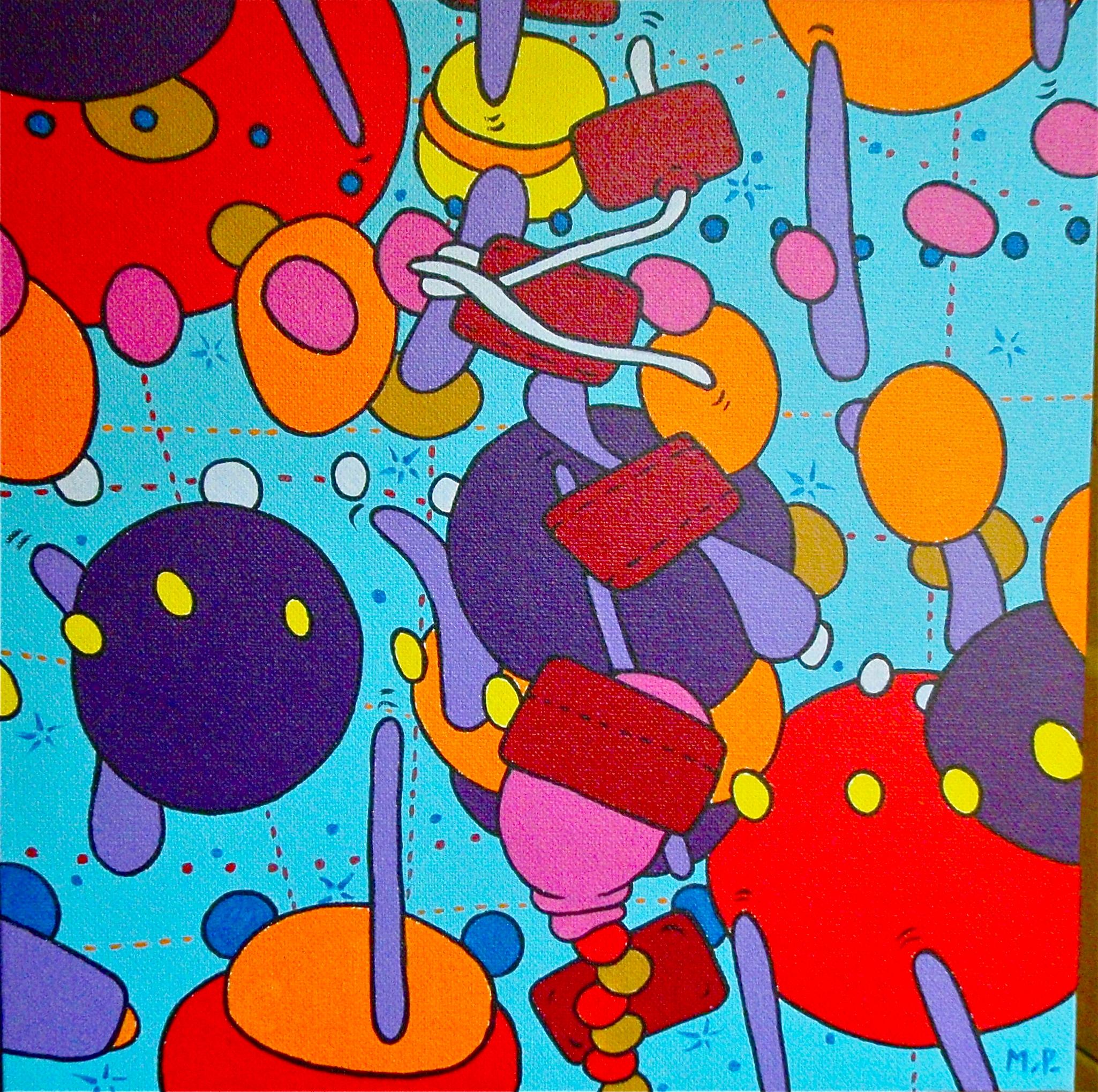 Jeu de l'Esprit (30x30)