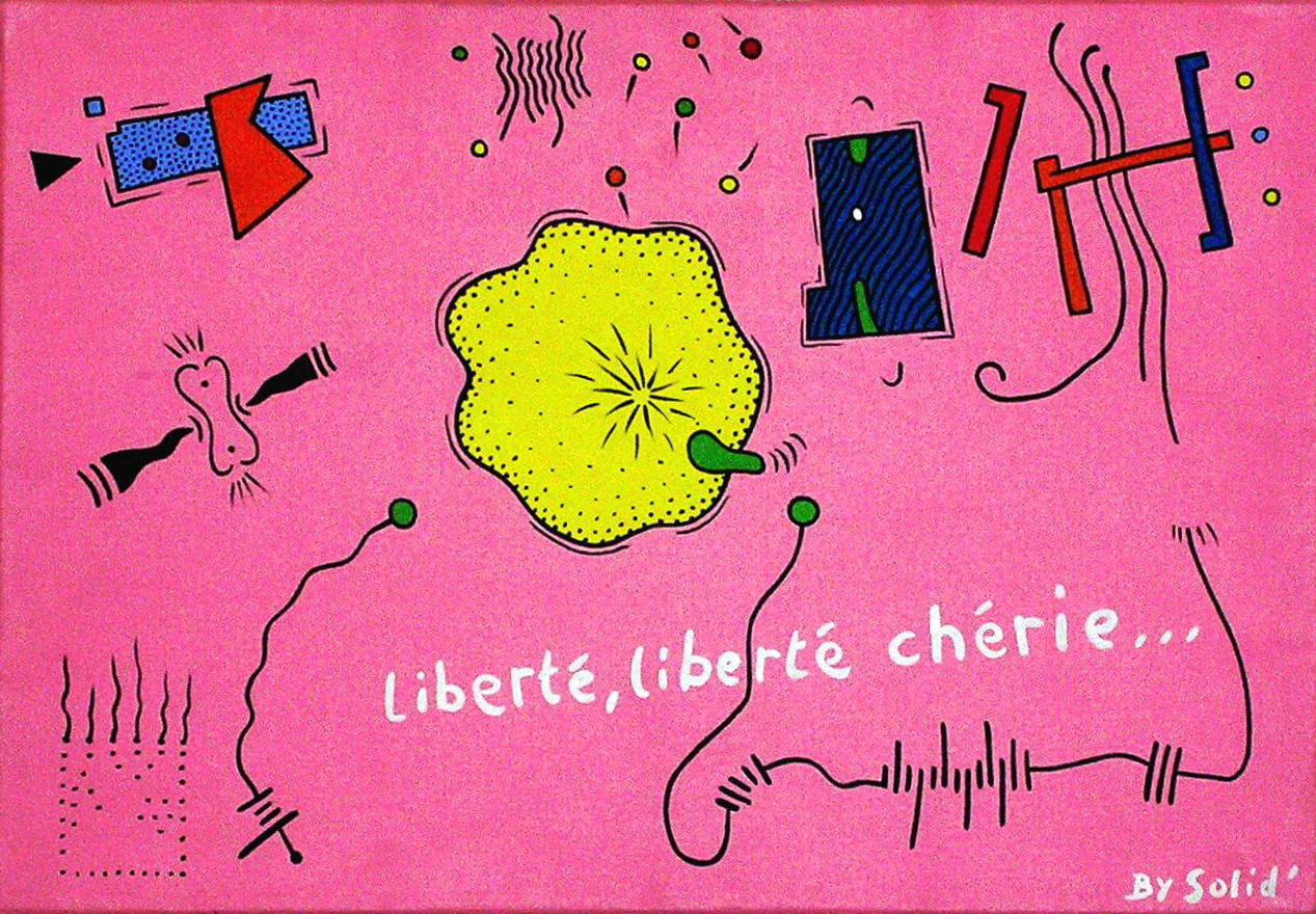 Liberté, liberté Chérie (28x35)
