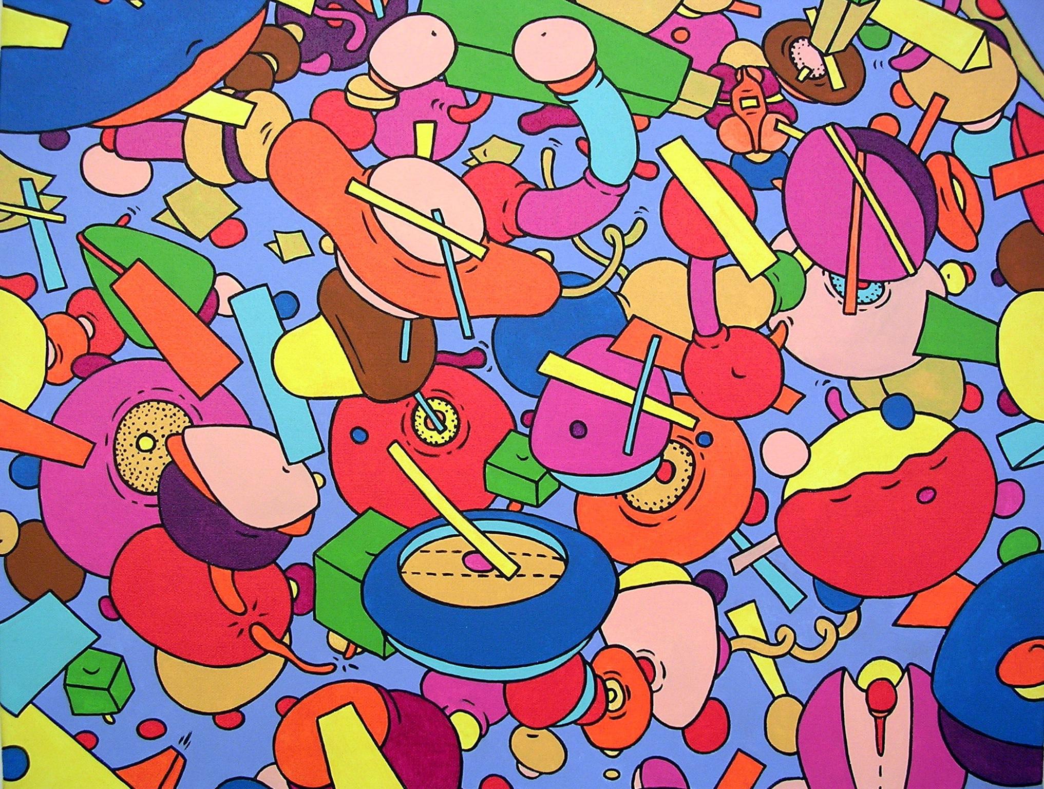 Danse avec la Vie (46x55)