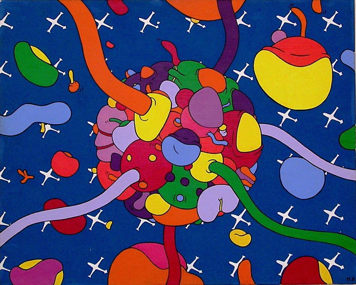 La Boule Aux Oeufs d'Or (65x81)