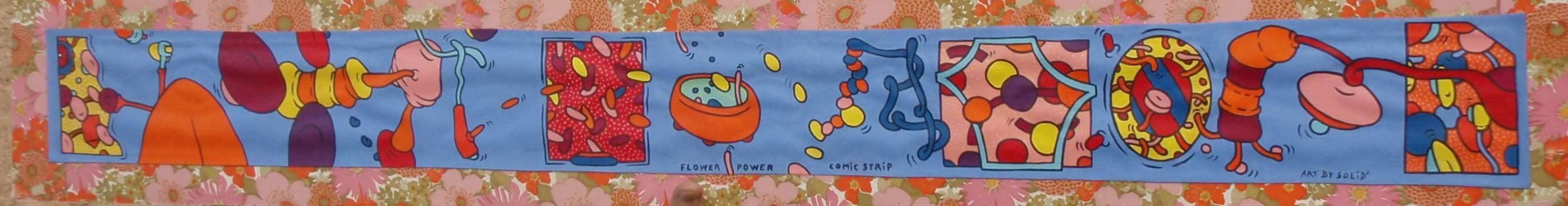 Flower-Power Comic Trip (20x130)