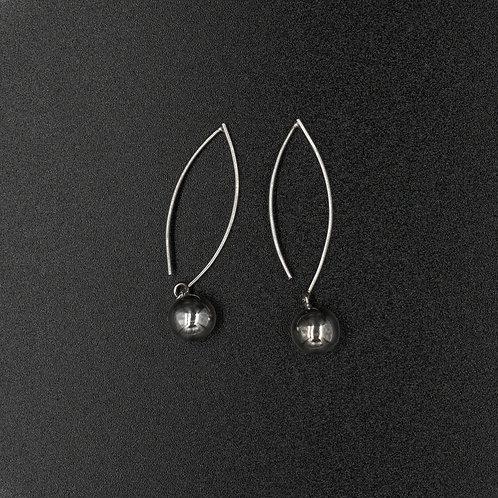 #40 Bunga Boucles d'oreilles Argent