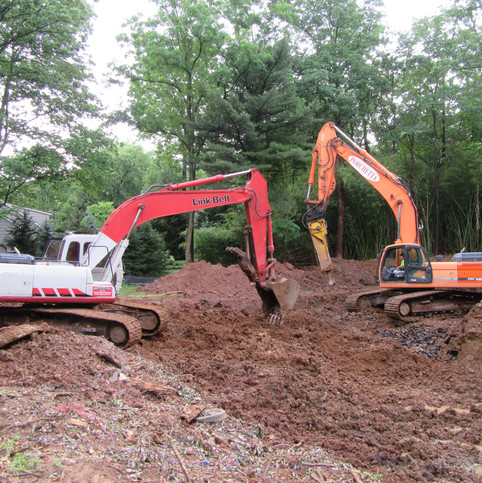 Foundation Digging