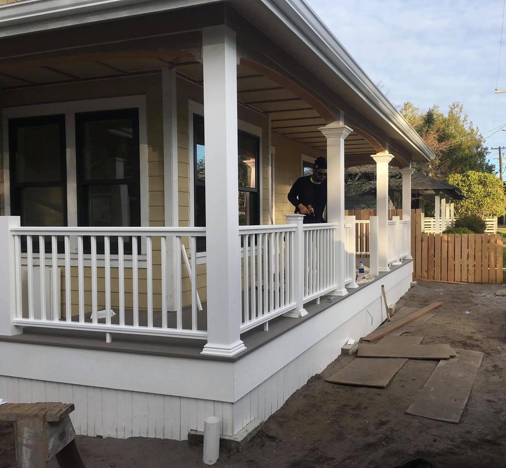 Azek Deck and Handrail