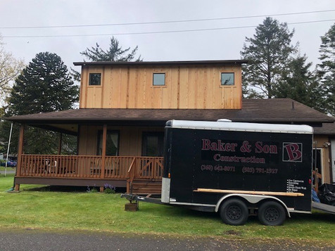 Completed siding and new windows
