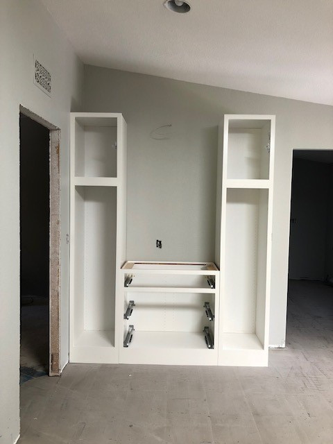 China cabinet mid remodel