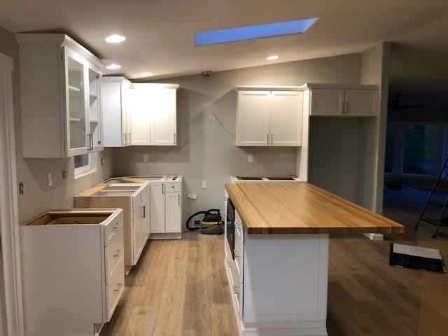 Kitchen mid remodel