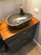Main bathroom complete