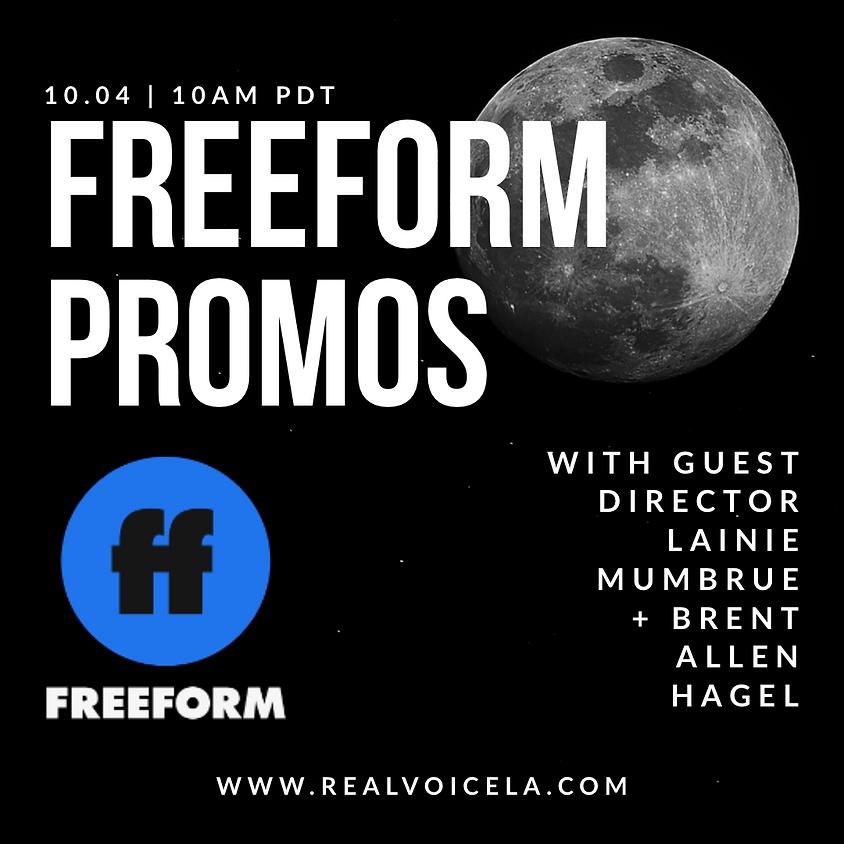 FREEFORM Promo with Guest Director Lainie Mumbrue and Brent Allen Hagel