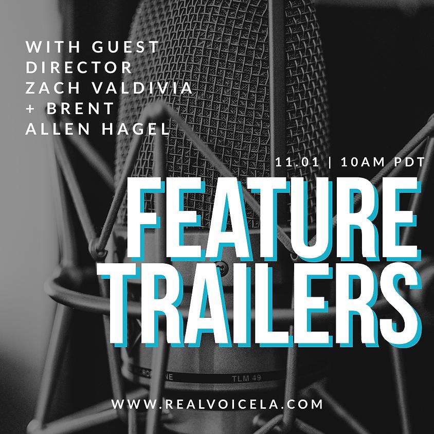 Online Refinery Creative Trailers w/ Guest Director Zach Valdivia & Brent Allen Hagel