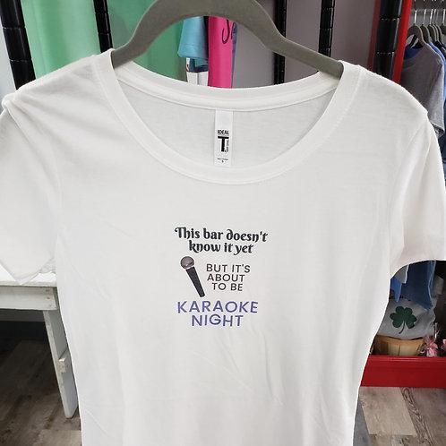 Karoake Night T-shirt