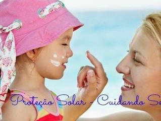 Proteção da pele: começa na infância!!