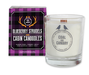 Blueberry Strudels candle