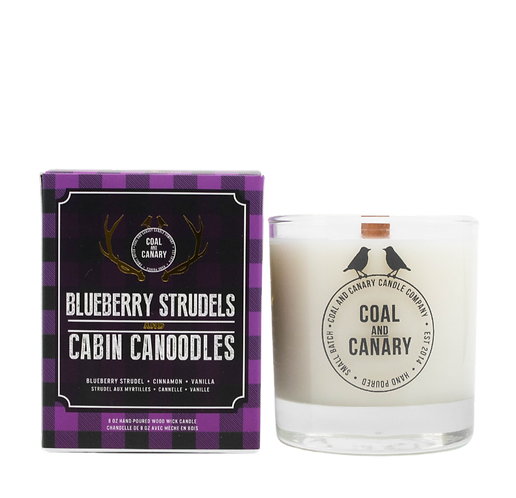Blueberry Strudels and Cabin Canoodles