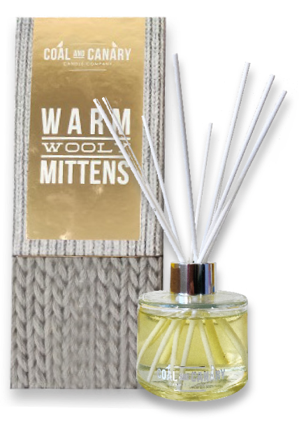 Warm Wooly Mittens - reed diffuser