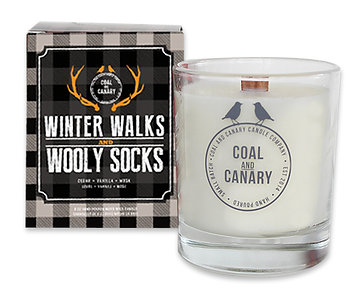 Winter Walks candle