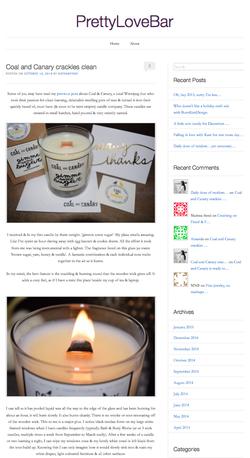 Pretty Love Bar blog