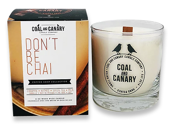 Don't Be Chai candle