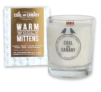 Warm Wooly Mittens candle